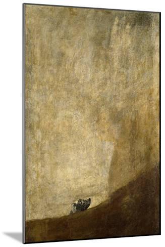 The Dog-Francisco de Goya-Mounted Giclee Print