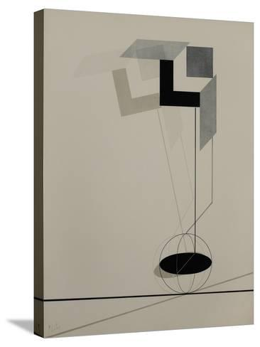 Proun-El Lissitzky-Stretched Canvas Print