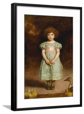 Ducklings-John Everett Millais-Framed Art Print