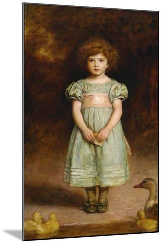 Ducklings-John Everett Millais-Mounted Giclee Print