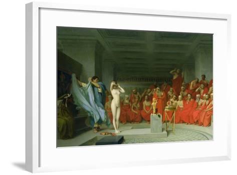 Phryne before the Areopagus-Jean-L?on Ger?me-Framed Art Print