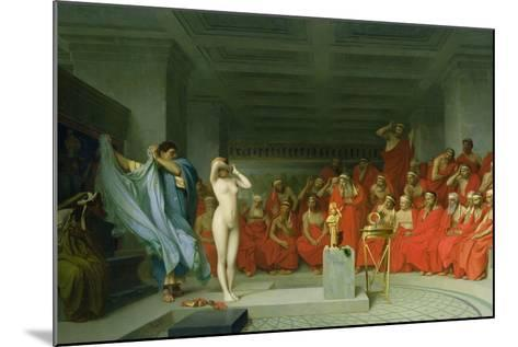 Phryne before the Areopagus-Jean-L?on Ger?me-Mounted Giclee Print