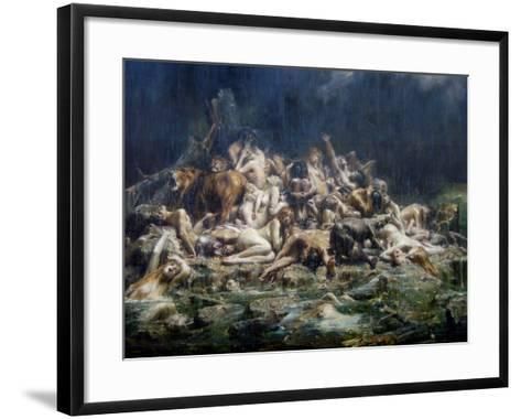 The Deluge-L?on-Fran?ois Comerre-Framed Art Print