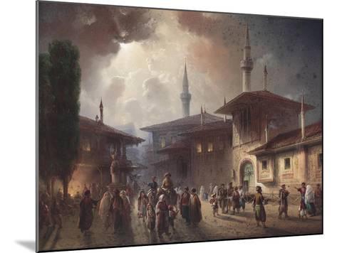 The Bakhchisaray Khan's Palace, 1857-Carlo Bossoli-Mounted Giclee Print