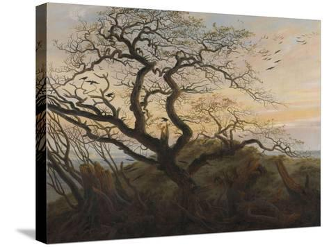 The Tree of Crows-Caspar David Friedrich-Stretched Canvas Print