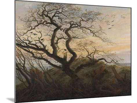 The Tree of Crows-Caspar David Friedrich-Mounted Giclee Print