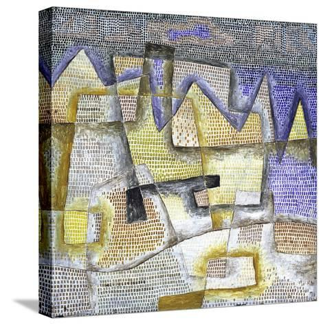 Rocky Coast-Paul Klee-Stretched Canvas Print