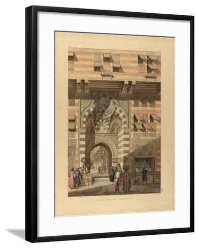 The Sabil-Kuttab of Sultan Qaitbay-Pascal-Xavier Coste-Framed Art Print