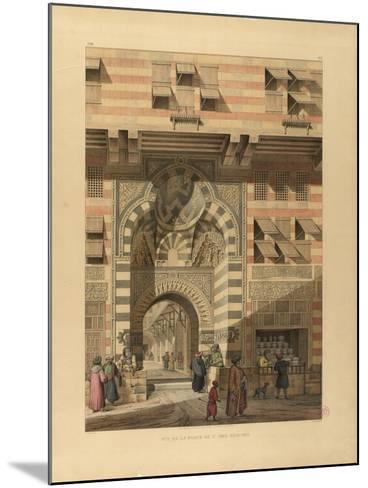 The Sabil-Kuttab of Sultan Qaitbay-Pascal-Xavier Coste-Mounted Giclee Print