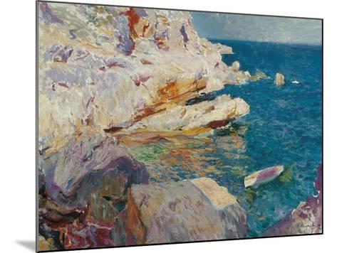 Rock at J?vea-Joaqu?n Sorolla y Bastida-Mounted Giclee Print