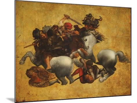 Tavola Doria-Leonardo da Vinci-Mounted Giclee Print