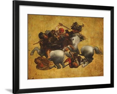 Tavola Doria-Leonardo da Vinci-Framed Art Print