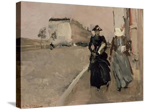 Gust of Wind-George Hendrik Breitner-Stretched Canvas Print