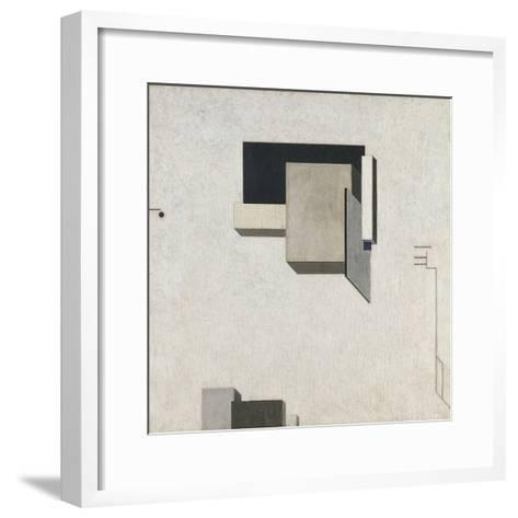 Proun 1-El Lissitzky-Framed Art Print