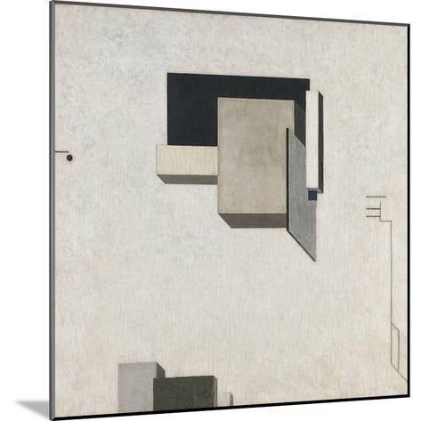 Proun 1-El Lissitzky-Mounted Giclee Print