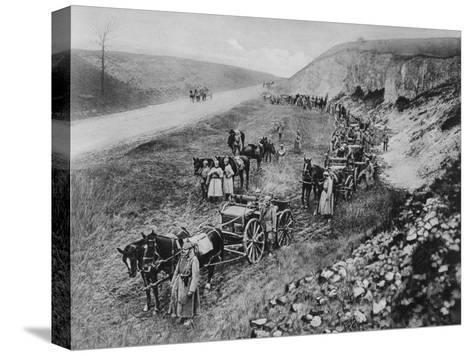 A German Machine-Gun Unit, World War I, 1915--Stretched Canvas Print