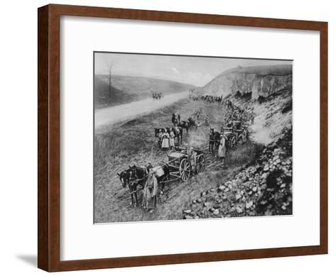A German Machine-Gun Unit, World War I, 1915--Framed Art Print
