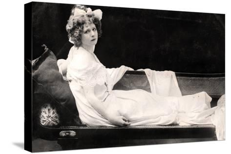 Mabel Love (1874-195), English Actress and Dancer, Early 20th Century--Stretched Canvas Print