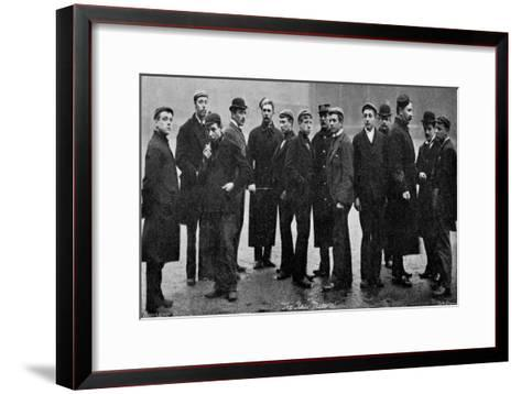 Army Raw Recruits, 1895-Gregory & Co-Framed Art Print