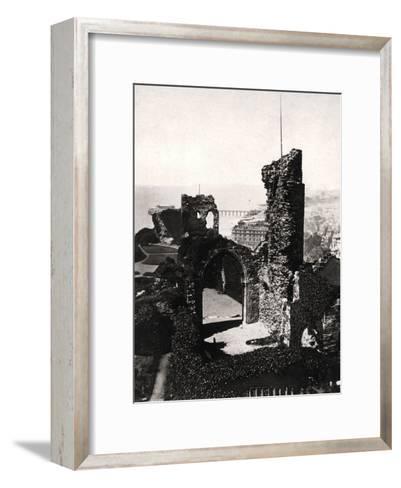 Hastings Castle, Sussex--Framed Art Print