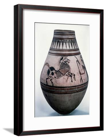 Egyptian Vase, 18th Dynasty--Framed Art Print