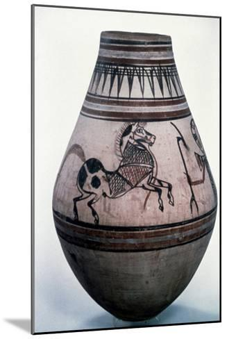 Egyptian Vase, 18th Dynasty--Mounted Giclee Print