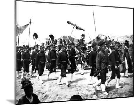 Imperial Japanese Procession, 1900--Mounted Giclee Print