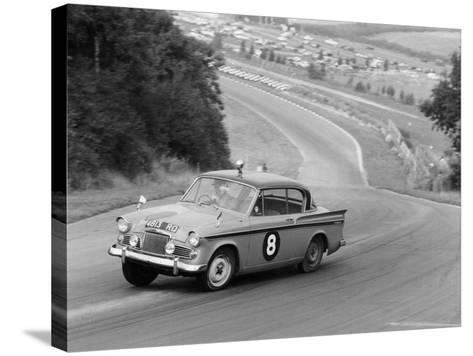 Sunbeam Rapier Racing at Brands Hatch, Kent, 1961--Stretched Canvas Print