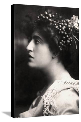 Constance Collier (1878-195), British Actress, 1900s-Foulsham and Banfield-Stretched Canvas Print