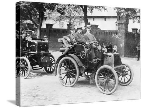 1900 Panhard, (1900s)--Stretched Canvas Print