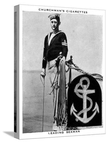 Leading Seaman, 1937- WA & AC Churchman-Stretched Canvas Print