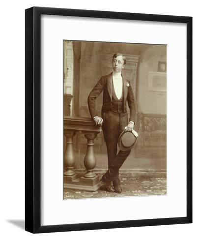 Wedding Portrait, 1880S--Framed Art Print