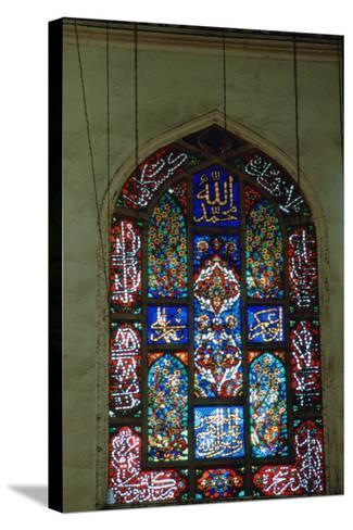 Stained Glass Window, Suleymaniye Mosque, 1557--Stretched Canvas Print