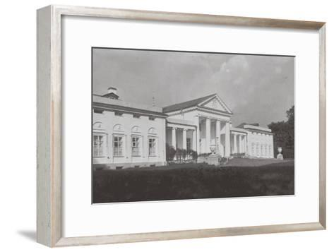 The Vlakhernskoye-Kuzminki Estate of Prince Sergey Mikhaylovich Golitsyn, 1890s--Framed Art Print