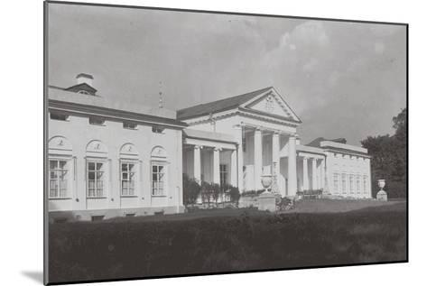 The Vlakhernskoye-Kuzminki Estate of Prince Sergey Mikhaylovich Golitsyn, 1890s--Mounted Giclee Print