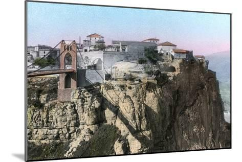 Pont Sidi M'Sid, Constantine, Algeria--Mounted Giclee Print