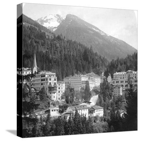 Schwarzenberg, Badgastein, Austria, C1900s-Wurthle & Sons-Stretched Canvas Print