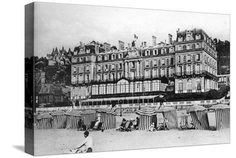 Black Rock Hotel, Trouville, France, C1920S--Stretched Canvas Print