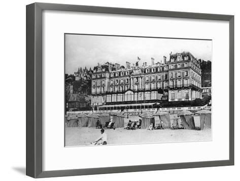 Black Rock Hotel, Trouville, France, C1920S--Framed Art Print