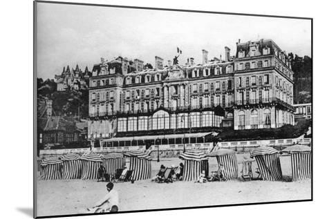 Black Rock Hotel, Trouville, France, C1920S--Mounted Giclee Print