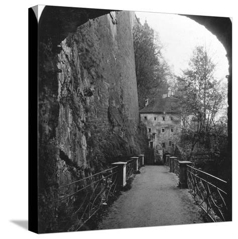Sperrbogen, Hohensalzburg Fortress, Salzburg, Austria, C1900-Wurthle & Sons-Stretched Canvas Print