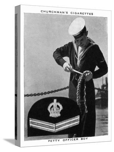 Petty Officer Boy, 1937- WA & AC Churchman-Stretched Canvas Print