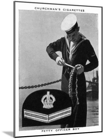 Petty Officer Boy, 1937- WA & AC Churchman-Mounted Giclee Print