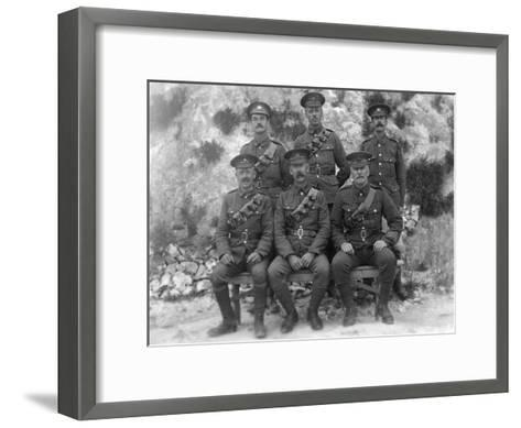 Main Guard, Royal Naval Depot, Fleet House and Archcliffe Fort, Dover, C1916--Framed Art Print