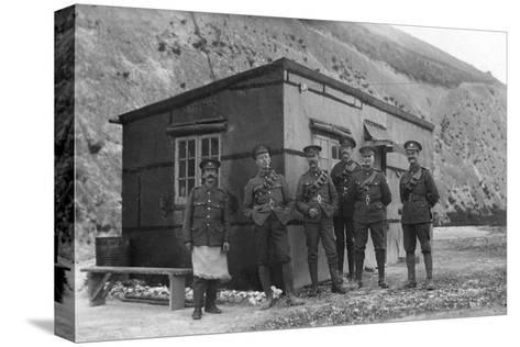 Main Guard, Royal Naval Depot, Fleet House and Archcliffe Fort, Dover, C1916--Stretched Canvas Print