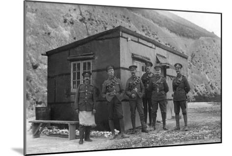 Main Guard, Royal Naval Depot, Fleet House and Archcliffe Fort, Dover, C1916--Mounted Giclee Print