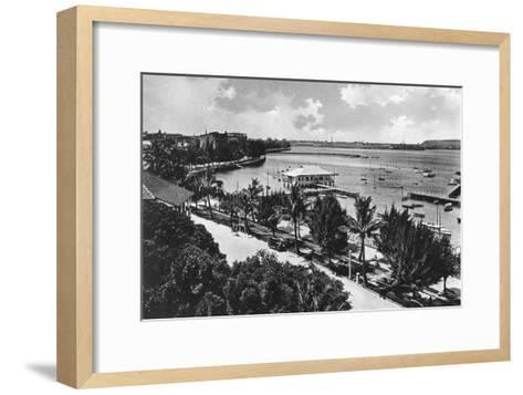 The Esplanade, Durban, South Africa--Framed Art Print