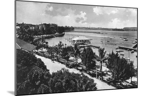 The Esplanade, Durban, South Africa--Mounted Giclee Print