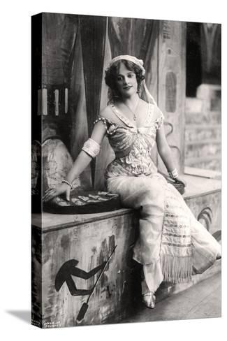 Madge Vincent, Singer and Actress, 1900s--Stretched Canvas Print