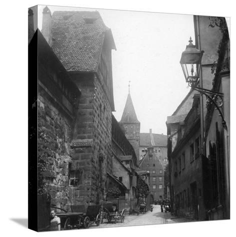 The Tiergartnertor, Nuremberg, Germany, C1900s-Wurthle & Sons-Stretched Canvas Print